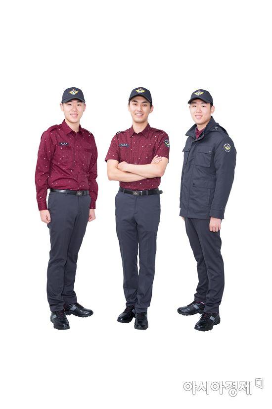 새 제복은 착용감과 기능성을 높이고 디자인도 크게 바뀌었다.