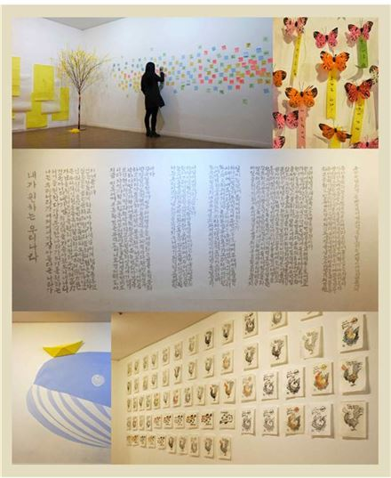동덕아트갤러리 전시장 전경 및 작품 [사진=동덕아트갤러리]