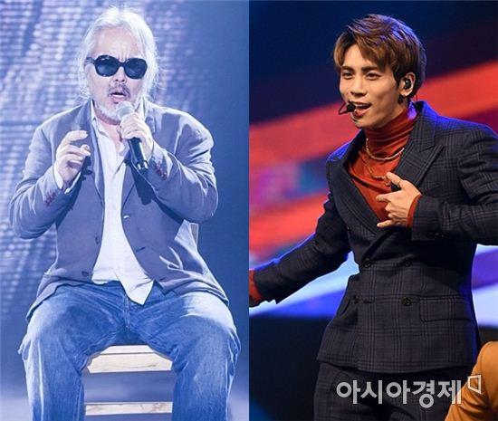 전인권, 샤이니 종현 / 사진=SBS, 스포츠투데이DB