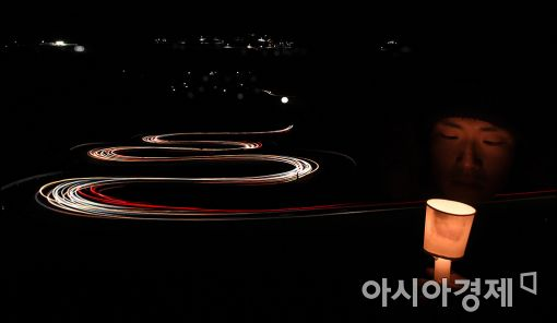 [포토]'2016년 대한민국의 상징'된 촛불