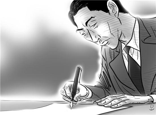 스기하라 지우네는 외교관으로서 국가의 명령에 맞서 인도적 양심에 의해 비자를 발급함으로 사지에 내몰린 6,000여 명의 유대인 난민을 구한 '동방의 의인'으로 추앙받고 있다. 일러스트 = 오성수 작가