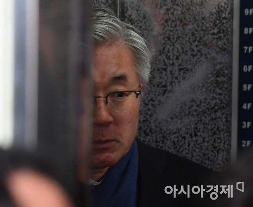 [포토]굳은 표정의 김종덕 전 장관