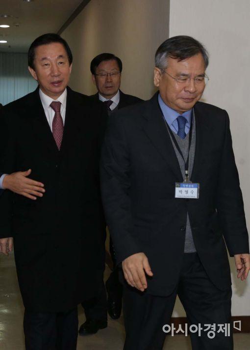 [포토]특검 찾은 김성태 국조특위 위원장