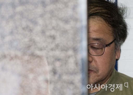 [포토]지친 표정의 안종범 전 수석