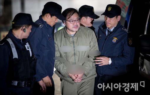 [포토]특검, 안종범 전 수석 소환