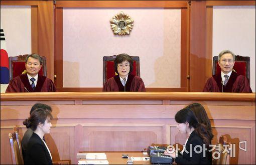 [포토]'박근혜 대통령 탄핵심판' 3차 준비절차기일