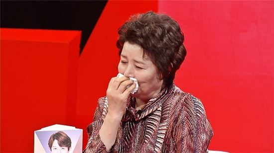 미운우리새끼 토니안 어머니가 아들을 향한 미안함에 눈물을 흘렸다. /사진= SBS 제공