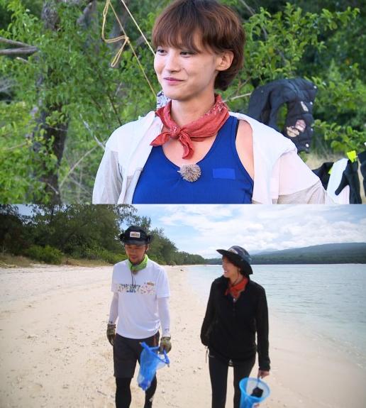 유인영이 '정글의 법칙'에 출연했다. /사진= SBS '정글의 법칙' 제공
