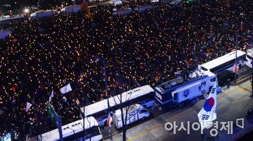 [포토]민주주의 새역사 '1000만 촛불' 달성