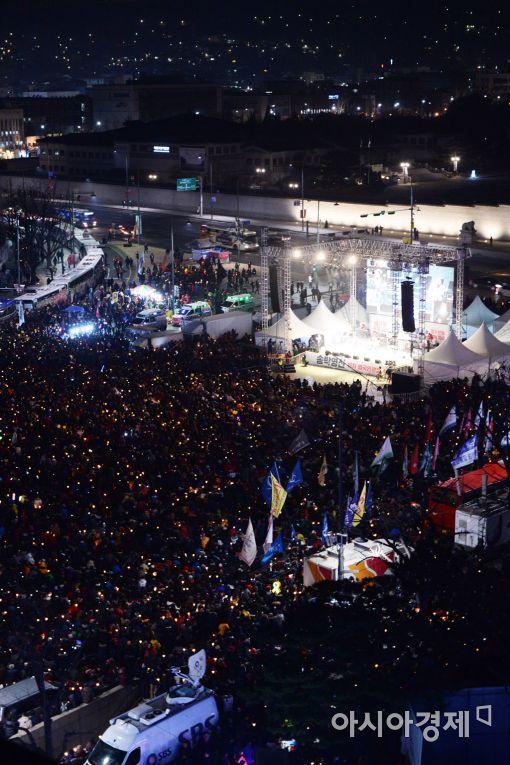 [포토]촛불집회 1000만 돌파