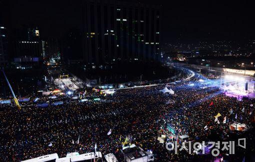 [포토]'송박영신', 10차 촛불집회