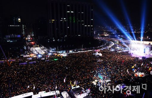 [포토]병신년 마지막 날, 10차 촛불집회