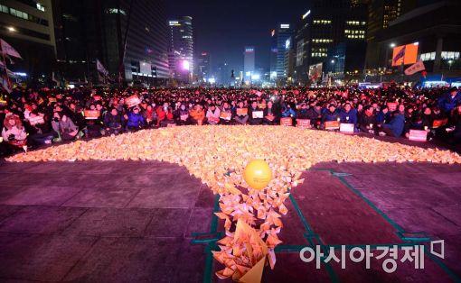 [포토]촛불 그리고 세월호