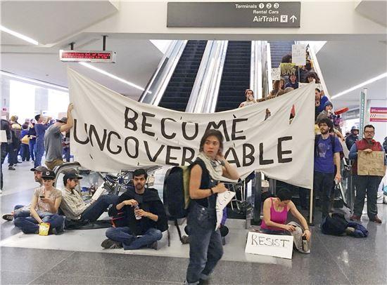[포토]트럼프의 '반(反) 이민 정책'을 반대한다