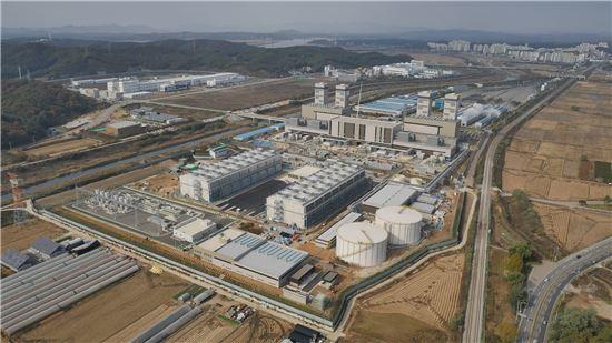 경기도 파주에 있는 천연가스발전소 전경<사진제공:SK E&S>