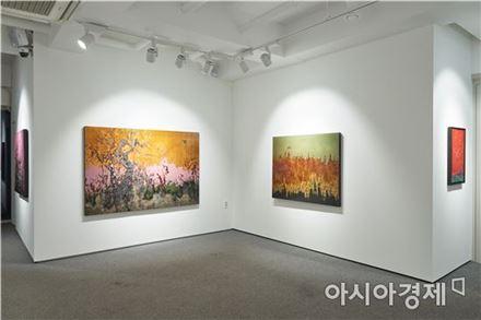 전시장 전경 [사진=더트리니티메트로 갤러리 제공]