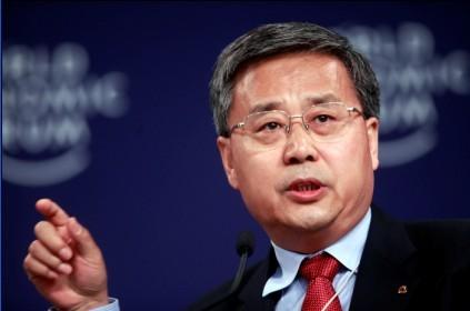 중국 은행감독관리위원회 신임 주석에 내정된 궈수칭(郭樹淸) 산둥성 성장.<사진=바이두>