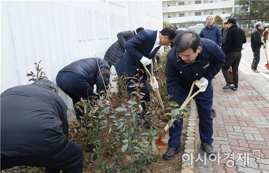 보성숲세상 만들기 첫 시동, 주민 참여숲 나무심기 행사 개최