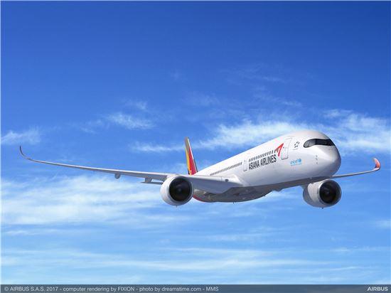 아시아나항공이 도입하는 A350