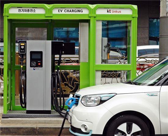 전기차 충전기(사진=아시아경제DB)