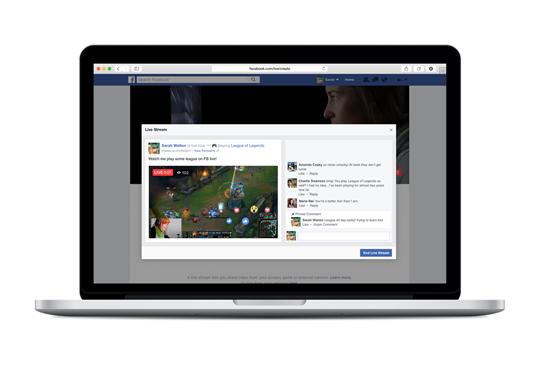 """""""유튜브 잡아라"""" 페이스북, PC로도 실시간 방송 지원"""