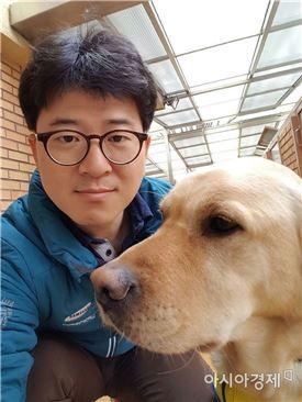 ▲삼성화재안내견학교 박태진 수의사.