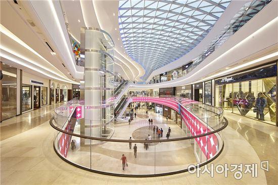 신세계의 복합쇼핑몰 스타필드 하남(아시아경제 DB)