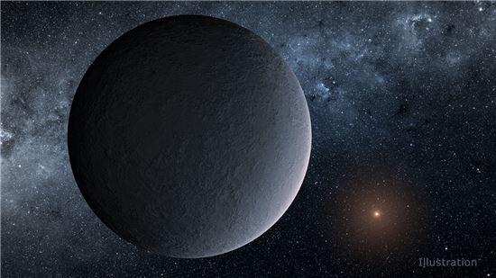 ▲국내연구팀이 발견한 외계행성.[사진제공=NASA]