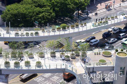 [포토]서울로 7017 내일 개장