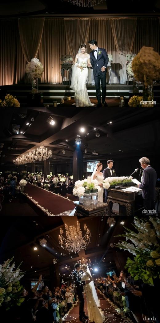 김소연 이상우 결혼식 공개 / 사진=나무액터스 제공