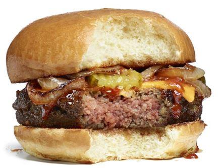 임파서블 푸드가 개발한, 식물로만 만든 햄버거 '임파서블 버거'
