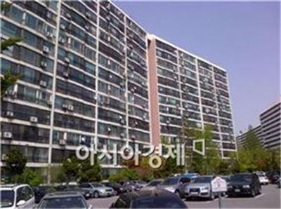 서울 강남구 대치동에 위치한 은마아파트 전경