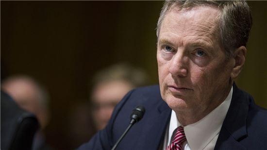 로버트 라이트하이저 미국 무역대표부(USTR) 대표 (사진출처 : Bloomberg)