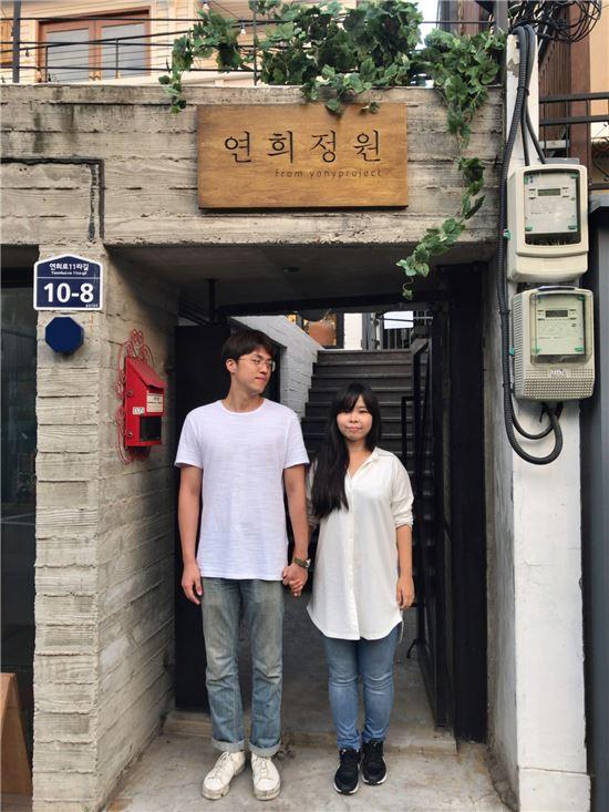 기창 역을 맡은 배우 박용우(왼쪽)와 주란 역의 성수연.