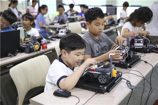 4차산업체험 관련 로봇체험