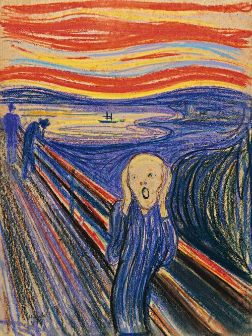 노르웨이 표현주의 화가 에드바르트 뭉크(1863~1944)의 대표작 `절규(The Scream)'. [이미지출처=AP연합뉴스]