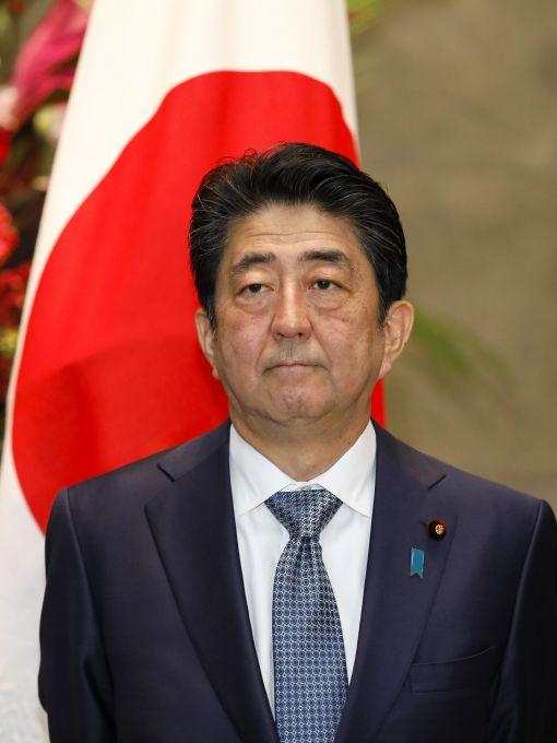 [이미지출처=EPA연합뉴스]아베 신조 일본 총리