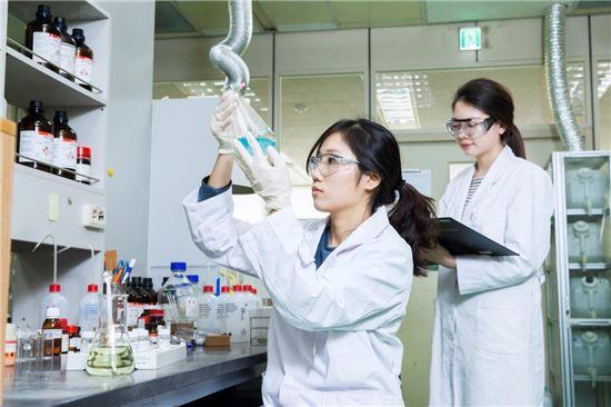 SK바이오팜의 신약 개발 연구 모습