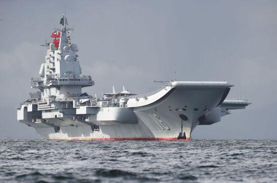 중국의 첫번째 항공모함인 랴오닝함의 모습(사진=연합뉴스)