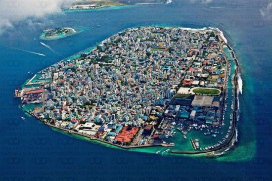 몰디브 수도 말레의 전경./아시아경제 자료사진