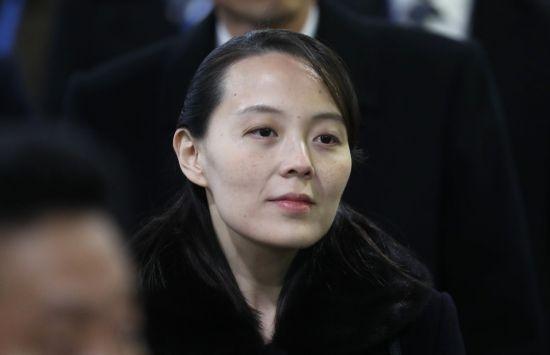 김여정 북한 노동당 선전선동부 제1부부장