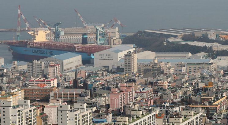 조선업의 도시 '울산 동구' [이미지출처=연합뉴스]