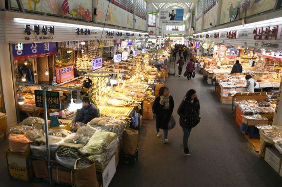 신중부시장, 2년 연속 전국 최우수 전통시장 선정