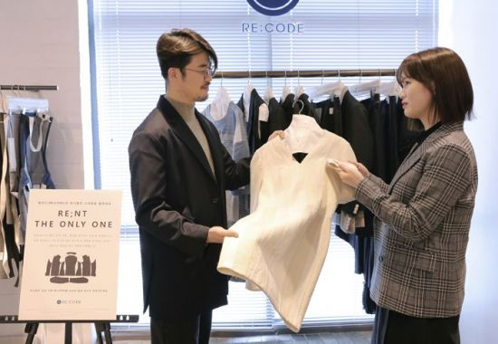 코오롱FnC의 브랜드 '래코드'의 착한 렌탈 서비스