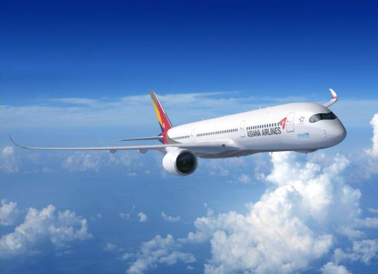 아시아나, 31일부터 美 서부 3개도시에 '차세대' A350 투입