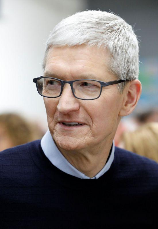팀 쿡 애플 CEO(사진=로이터연합뉴스)