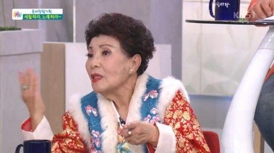 원로가수 금사월/사진=KBS1 '아침마당' 방송화면 캡처
