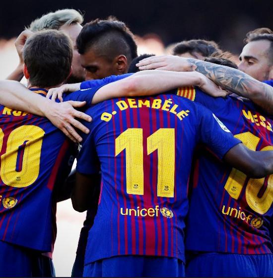 사진=FC 바르셀로나 공식 트위터 캡쳐