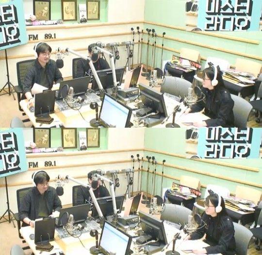 사진=KBS 쿨FM '김승우&장항준의 미스터라디오' 캡처