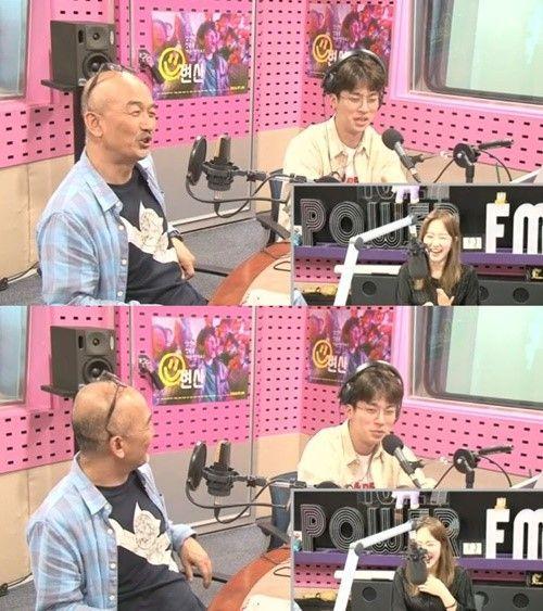 이준익 감독, 배우 박정민/사진=SBS 파워FM '박선영의 씨네타운' 보이는 라디오 캡처